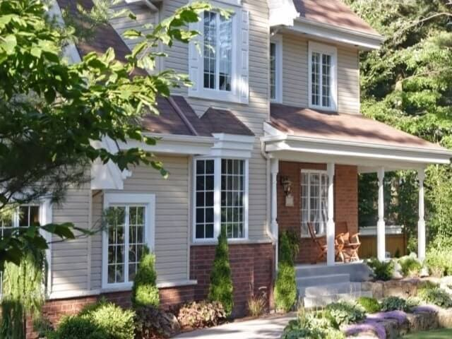Minnick's save energy with trees and landscaping