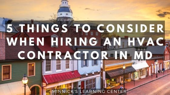 5 things to consider when hiring hvac contractor in maryland